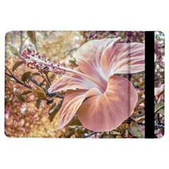 Fantasy Colors Hibiscus Flower Digital Photography Apple Ipad Air Flip Case by dflcprints