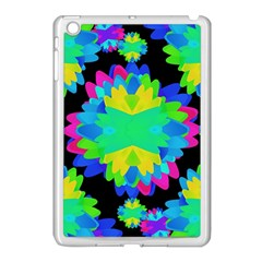 Multicolored Floral Print Geometric Modern Pattern Apple Ipad Mini Case (white) by dflcprints