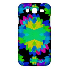 Multicolored Floral Print Geometric Modern Pattern Samsung Galaxy Mega 5 8 I9152 Hardshell Case  by dflcprints