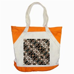 Modern Arabesque Pattern Print Accent Tote Bag by dflcprints