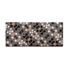 Modern Arabesque Pattern Print Hand Towel by dflcprints