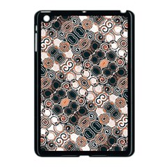 Modern Arabesque Pattern Print Apple Ipad Mini Case (black) by dflcprints