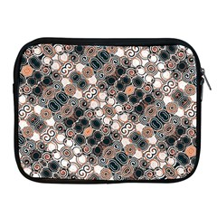 Modern Arabesque Pattern Print Apple Ipad Zippered Sleeve by dflcprints