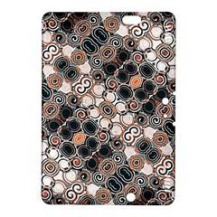 Modern Arabesque Pattern Print Kindle Fire Hdx 8 9  Hardshell Case by dflcprints