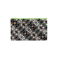 Modern Arabesque Pattern Print Cosmetic Bag (xs) by dflcprints