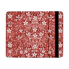Flowers Pattern Collage In Coral An White Colors Samsung Galaxy Tab Pro 8 4  Flip Case by dflcprints