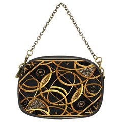 Futuristic Ornament Decorative Print Chain Purse (two Sided)  by dflcprints