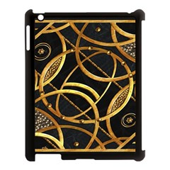 Futuristic Ornament Decorative Print Apple Ipad 3/4 Case (black) by dflcprints