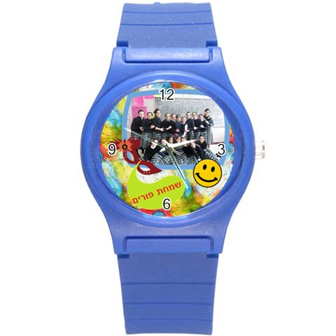 By Elyon   Round Plastic Sport Watch (s)   3a13lbs79s48   Www Artscow Com Front