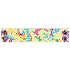 Color Splash Flano Scarf (small) By Kim Blair   Flano Scarf (small)   I4yw2cabyxjn   Www Artscow Com Front
