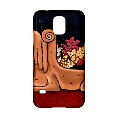 Cute Creature Fantasy Illustration Samsung Galaxy S5 Hardshell Case  by dflcprints