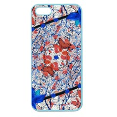Floral Pattern Digital Collage Apple Seamless Iphone 5 Case (color) by dflcprints
