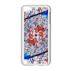 Floral Pattern Digital Collage Apple Ipod Touch 5 Case (white) by dflcprints