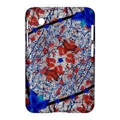 Floral Pattern Digital Collage Samsung Galaxy Tab 2 (7 ) P3100 Hardshell Case  by dflcprints