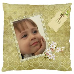 Country Large Flano Cushion Case By Deborah   Large Flano Cushion Case (two Sides)   03kqibuy5f74   Www Artscow Com Front