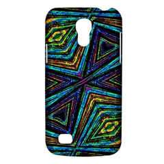 Tribal Style Colorful Geometric Pattern Samsung Galaxy S4 Mini (gt I9190) Hardshell Case  by dflcprints