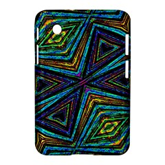 Tribal Style Colorful Geometric Pattern Samsung Galaxy Tab 2 (7 ) P3100 Hardshell Case  by dflcprints