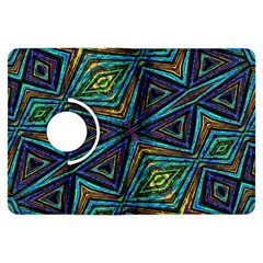 Tribal Style Colorful Geometric Pattern Kindle Fire Hdx Flip 360 Case by dflcprints