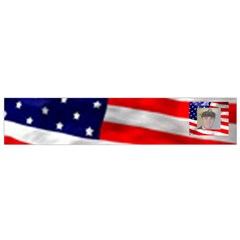American Flag Flano Scarf (small) By Kim Blair   Flano Scarf (small)   E679dae0af7j   Www Artscow Com Back