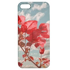Flowers In The Sky Apple Iphone 5 Hardshell Case With Stand by dflcprints