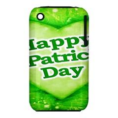 Unique Happy St. Patrick s Day Design Apple iPhone 3G/3GS Hardshell Case (PC+Silicone)