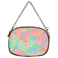 Tropical Summer Fruit Salad Chain Purse (two Sides) by CrypticFragmentsColors