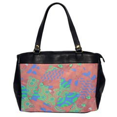 Tropical Summer Fruit Salad Oversize Office Handbag by CrypticFragmentsColors