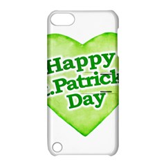 Happy St Patricks Day Design Apple Ipod Touch 5 Hardshell Case With Stand by dflcprints