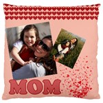 mothers day - Large Flano Cushion Case (One Side)