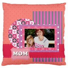 Mothers Day By Mom   Large Flano Cushion Case (two Sides)   Au3l1boscnmf   Www Artscow Com Front