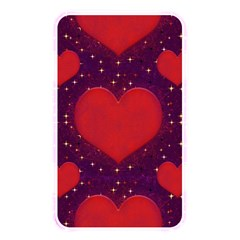 Galaxy Hearts Grunge Style Pattern Memory Card Reader (rectangular) by dflcprints