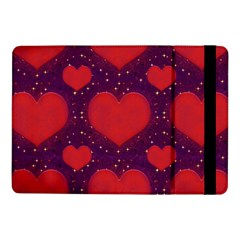 Galaxy Hearts Grunge Style Pattern Samsung Galaxy Tab Pro 10 1  Flip Case by dflcprints