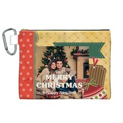 Xmas By Xmas   Canvas Cosmetic Bag (xl)   Jnnsn2ra4qkt   Www Artscow Com Front