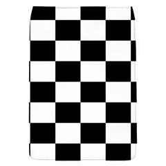 Checkered Flag Race Winner Mosaic Tile Pattern Removable Flap Cover (small) by CrypticFragmentsColors