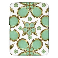 Luxury Decorative Pattern Collage Samsung Galaxy Tab 3 (10 1 ) P5200 Hardshell Case  by dflcprints