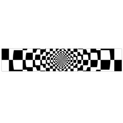 Checkered Flag Race Winner Mosaic Tile Pattern Repeat Flano Scarf (large) by CrypticFragmentsColors
