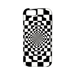 Checkered Flag Race Winner Mosaic Tile Pattern Repeat Apple Iphone 5 Classic Hardshell Case (pc+silicone) by CrypticFragmentsColors