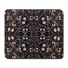 Victorian Style Grunge Pattern Large Mouse Pad (rectangle) by dflcprints