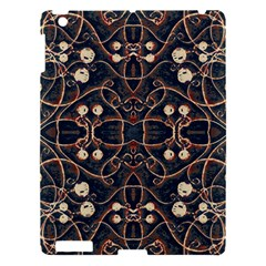 Victorian Style Grunge Pattern Apple Ipad 3/4 Hardshell Case by dflcprints