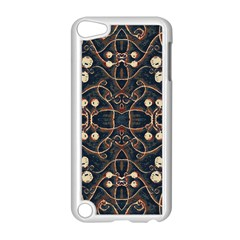 Victorian Style Grunge Pattern Apple iPod Touch 5 Case (White)