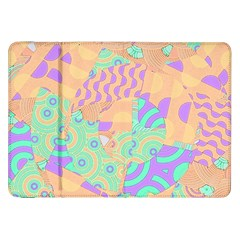 Tropical Summer Fruit Orange Lime Berry Samsung Galaxy Tab 8 9  P7300 Flip Case by CrypticFragmentsColors