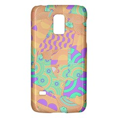Tropical Summer Fruit Orange Lime Berry Samsung Galaxy S5 Mini Hardshell Case  by CrypticFragmentsColors