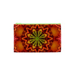 Florescent Abstract Cosmetic Bag (XS) by OCDesignss