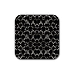 Geometric Abstract Pattern Futuristic Design  Drink Coasters 4 Pack (square) by dflcprints