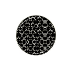 Geometric Abstract Pattern Futuristic Design  Golf Ball Marker 4 Pack (for Hat Clip) by dflcprints