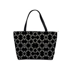 Geometric Abstract Pattern Futuristic Design  Large Shoulder Bag by dflcprints