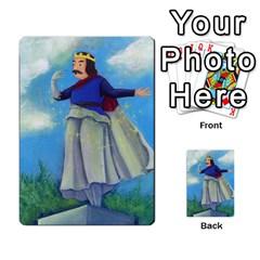 Mosby3multibacks By Jordi Diaz Jose   Multi Purpose Cards (rectangle)   Ouytj7b25ga9   Www Artscow Com Back 35