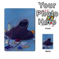 Mosby3multibacks By Jordi Diaz Jose   Multi Purpose Cards (rectangle)   Ouytj7b25ga9   Www Artscow Com Front 41