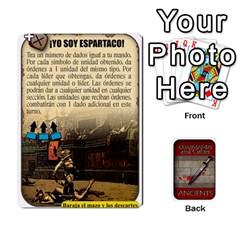 Commandcolorsancients1 By Jordi Diaz Jose   Playing Cards 54 Designs   76wwy0j5dtss   Www Artscow Com Front - Heart5