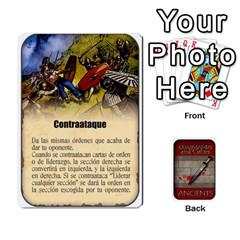Ace Commandcolorsancients1 By Jordi Diaz Jose   Playing Cards 54 Designs   76wwy0j5dtss   Www Artscow Com Front - HeartA